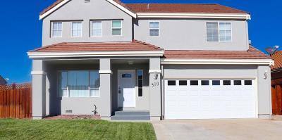 HOLLISTER Single Family Home For Sale: 510 Verona Pl