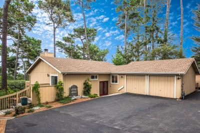 Pebble Beach Single Family Home For Sale: 4095 Crest Rd