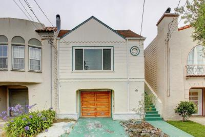 SAN FRANCISCO Single Family Home For Sale: 2450 30th Ave