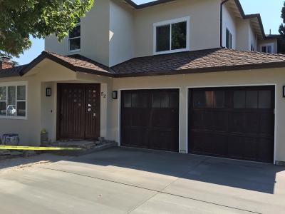 Redwood City Single Family Home For Sale: 52 Murray Ct