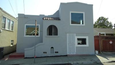 OAKLAND Single Family Home For Sale: 5415 Walnut St