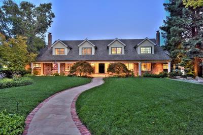 Saratoga Single Family Home For Sale: 14008 Camino Barco