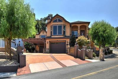 MORGAN HILL Single Family Home For Sale: 17110 Copper Hill Dr