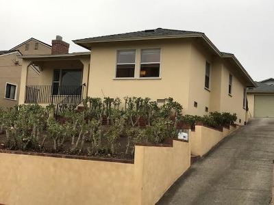 Monterey Single Family Home For Sale: 149 Seeno St