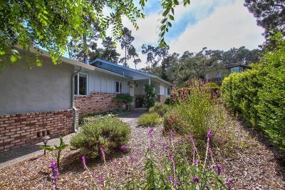 Monterey Single Family Home For Sale: 230 Via Del Pinar