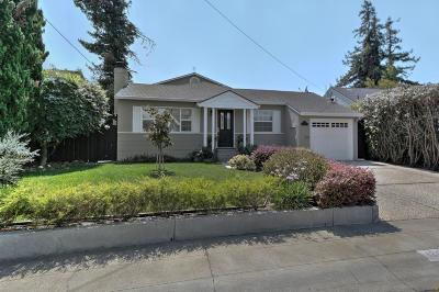 Belmont Single Family Home For Sale: 1240 Furlong St
