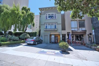 SAN FRANCISCO Multi Family Home For Sale: 1443 Lombard St