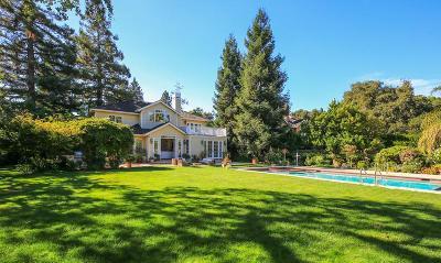 MENLO PARK Single Family Home For Sale: 500 Berkeley Ave