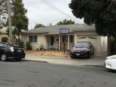 San Bruno Single Family Home For Sale: 818 Easton Ave