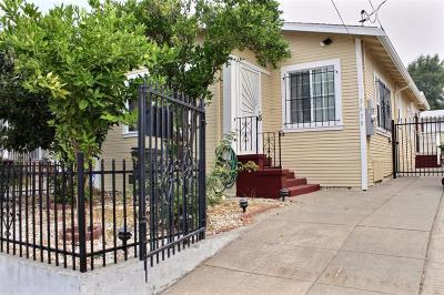 Single Family Home For Sale: 3638 Redding St