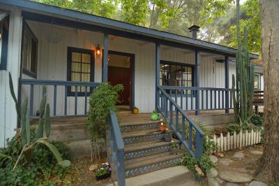 Carmel Valley Single Family Home Contingent: 60 Paso Hondo