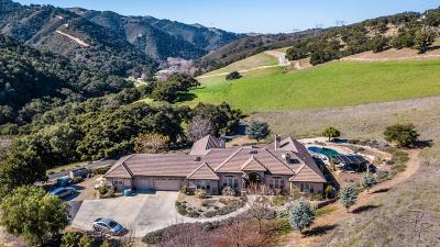 SAN JUAN BAUTISTA Single Family Home For Sale: 4596 San Juan Canyon Rd