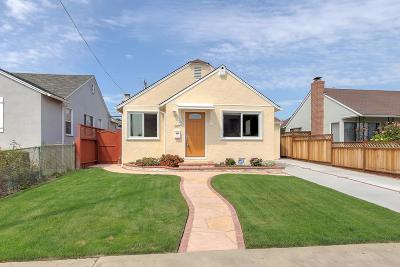 South San Francisco Single Family Home For Sale: 809 Southwood Dr