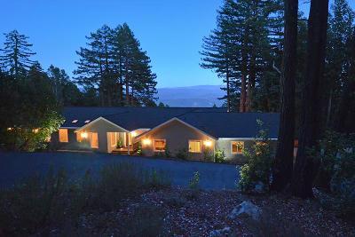 Santa Cruz Single Family Home For Sale: 9760 Empire Grade