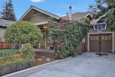 Santa Cruz Single Family Home For Sale: 712 California St