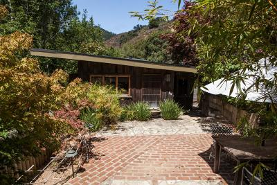 Big Sur Single Family Home For Sale: 10026 Sycamore Canyon Rd