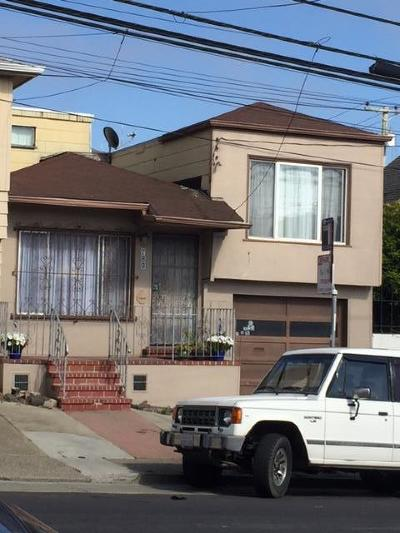 Brisbane, Colma, Daly City, Millbrae, San Bruno, South San Francisco Single Family Home For Sale: 789 Hillside Blvd