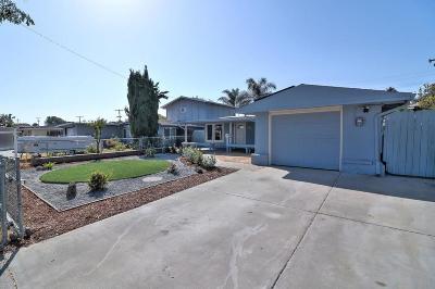 SAN JOSE Single Family Home For Sale: 1811 Everglade Ave