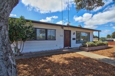 Monterey Single Family Home For Sale: 538 Casanova Ave
