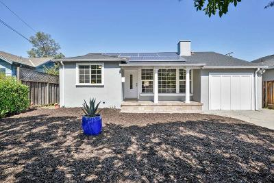 Redwood City Single Family Home For Sale: 3125 Page St