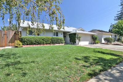 LOS GATOS Single Family Home For Sale: 158 Lester Ln