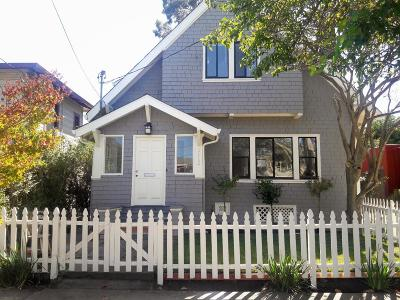 BERKELEY Single Family Home For Sale: 1112-1114 Chaucer St Duplex