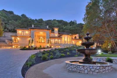 Saratoga Single Family Home For Sale: 13740 Pierce Rd