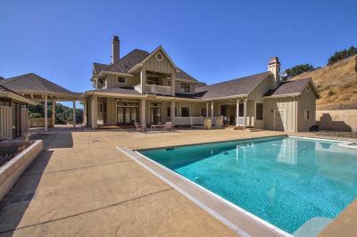 SALINAS Single Family Home For Sale: 486 Corral De Tierra Rd