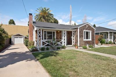 San Carlos Single Family Home For Sale: 942 Montgomery St