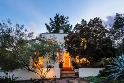 Hillsborough Single Family Home For Sale: 1005 Vista Rd