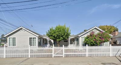 REDWOOD CITY Multi Family Home For Sale: 1209-1213 Reese St