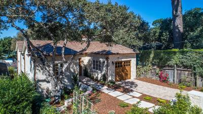 CARMEL Single Family Home For Sale: 0 Camino Real 2nw 8th Ave