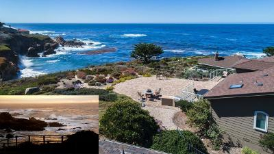 Carmel Highlands Single Family Home For Sale: 112a Yankee Point Dr A