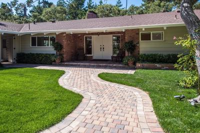 Pebble Beach Single Family Home For Sale: 2816 Sloat Rd
