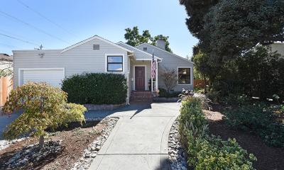 SAN MATEO Single Family Home For Sale: 1724 2nd Ave