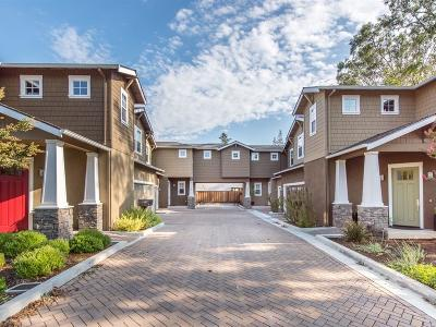 LOS GATOS Townhouse For Sale: 542 Hubbell Way