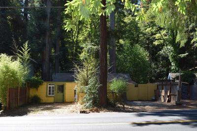Boulder Creek Single Family Home For Sale: 14345 Big Basin Way