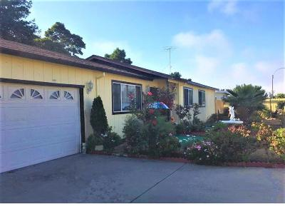 SEASIDE CA Single Family Home For Sale: $650,000