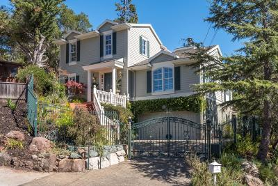 BELMONT Single Family Home For Sale: 1768 Terrace Dr