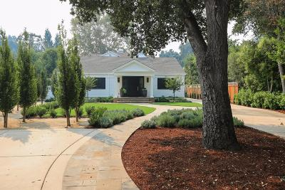 ATHERTON CA Single Family Home For Sale: $6,198,000