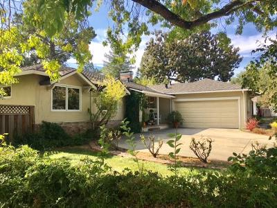LOS GATOS Single Family Home For Sale: 266 Kennedy Rd