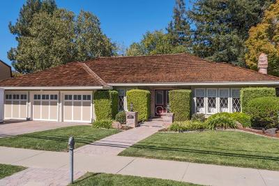 Los Altos Single Family Home For Sale: 1405 Oak Ave