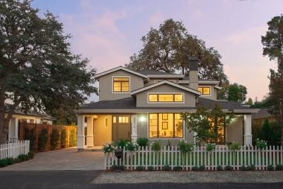 Palo Alto Single Family Home For Sale: 3878 Magnolia Dr.