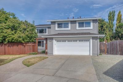 GILROY Single Family Home Contingent: 7180 Albany Pl