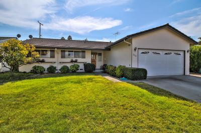 SANTA CLARA Single Family Home Contingent: 2028 Staats Way