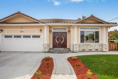 Redwood City Single Family Home For Sale: 3166 Fair Oaks Ave