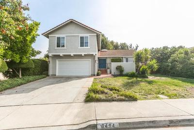 SAN JOSE Single Family Home For Sale: 6494 McAbee Rd