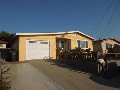 SEASIDE CA Single Family Home For Sale: $485,000