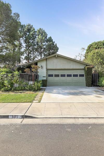 FOSTER CITY Single Family Home For Sale: 335 Bodega St