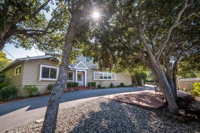 BURLINGAME Single Family Home For Sale: 3123 Hillside Dr